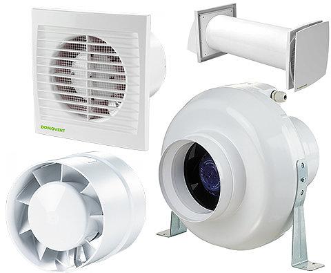 Вентиляторы и рекуператоры