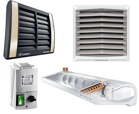 Тепловые вентиляторы и завесы